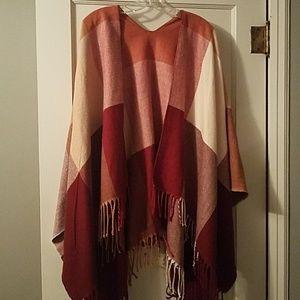 Colorful blanket scarf/shawl